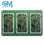 Thick gold PCB with BGA